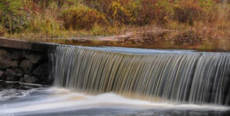 Auburn, NH Waterfall